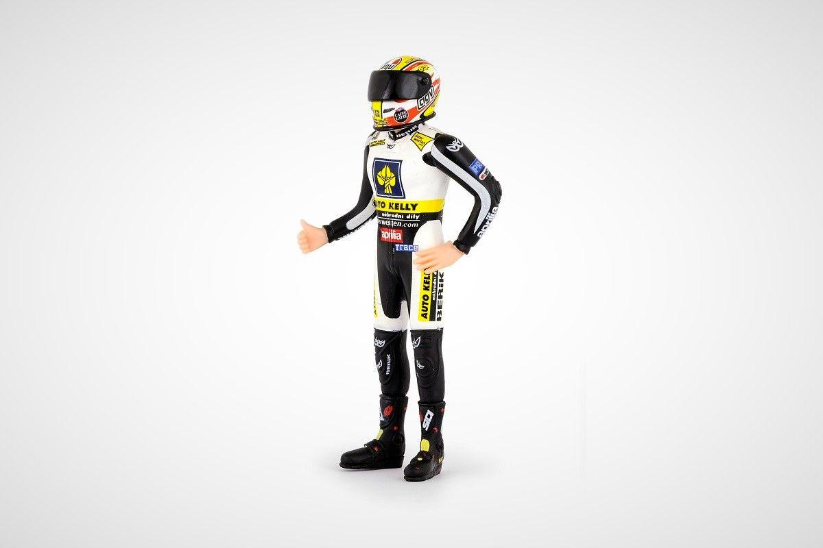 Figurka Závodního Jezdce 1:18 - Lukáš Pešek 2009