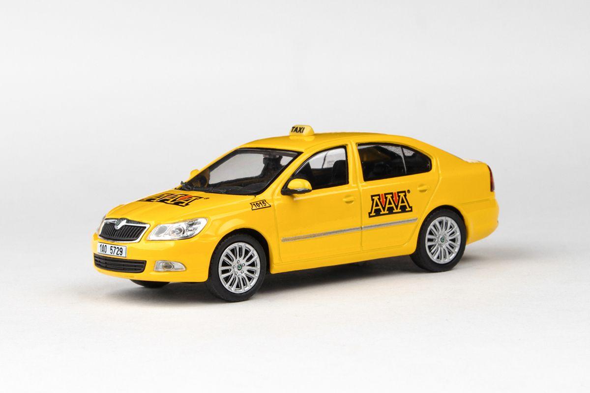 Škoda Octavia II FL (2008) 1:43 - AAA Taxi