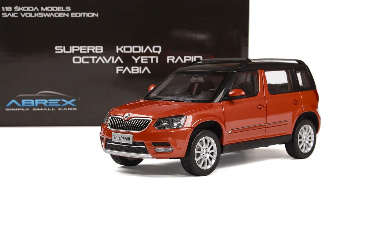 Škoda Yeti FL (2013) 1:18 - Oranžová Metalíza