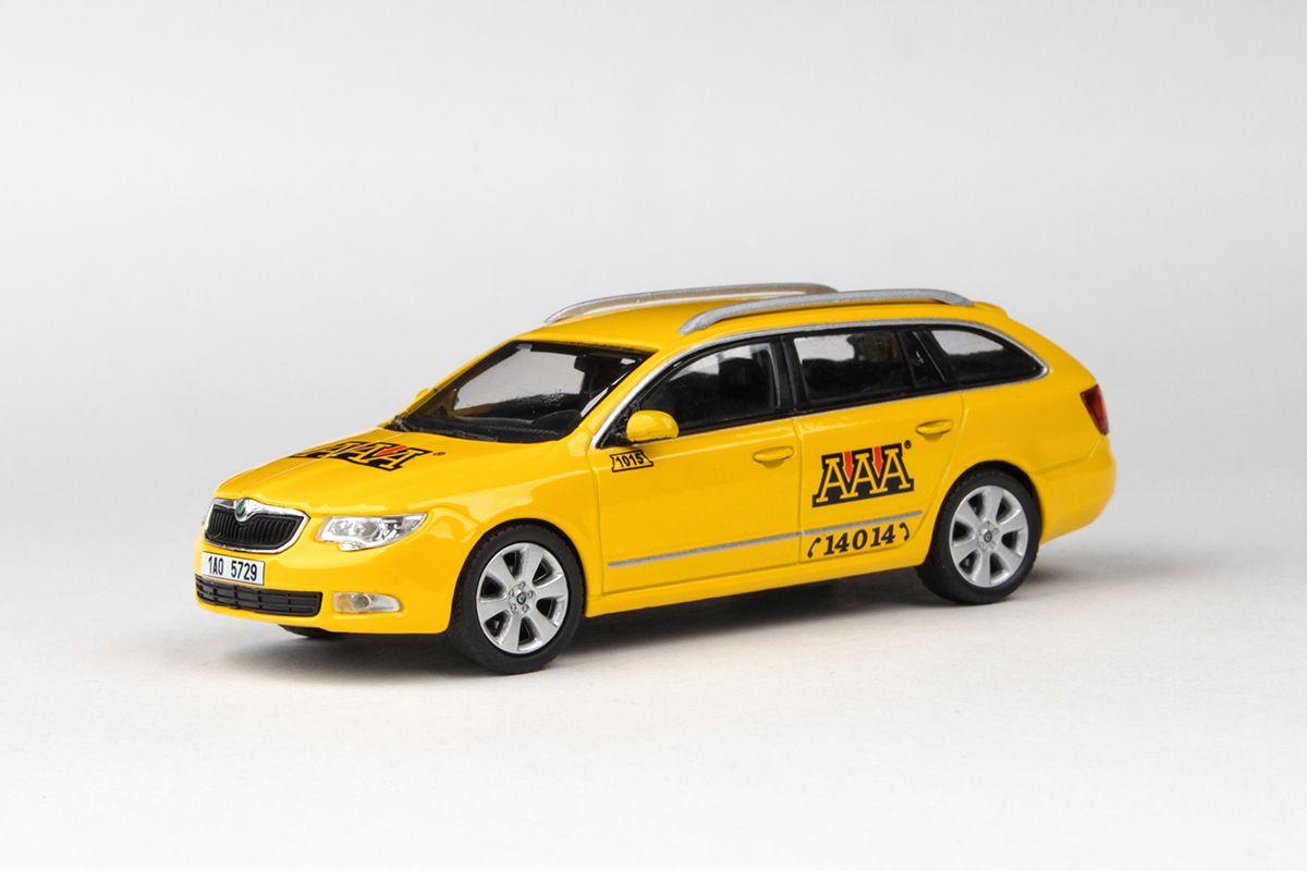 Škoda Superb II Combi (2009) 1:43 - AAA Taxi
