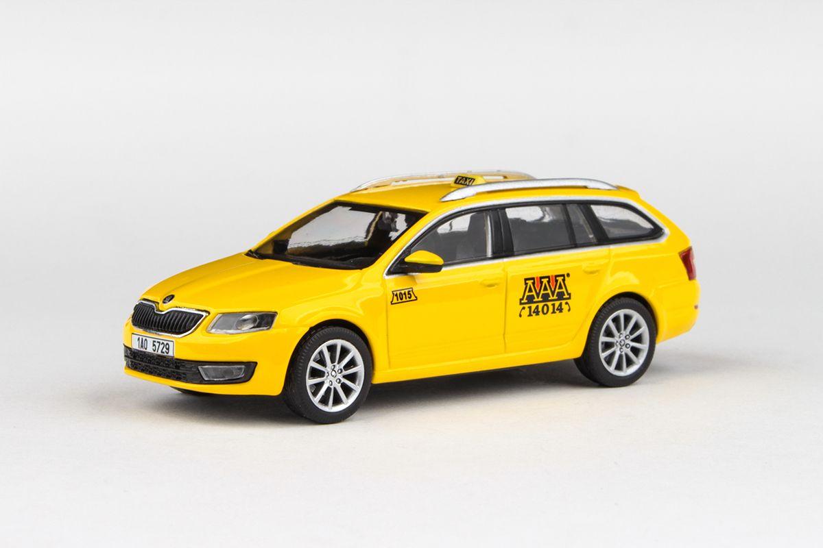Škoda Octavia III Combi (2013) 1:43 - AAA Taxi