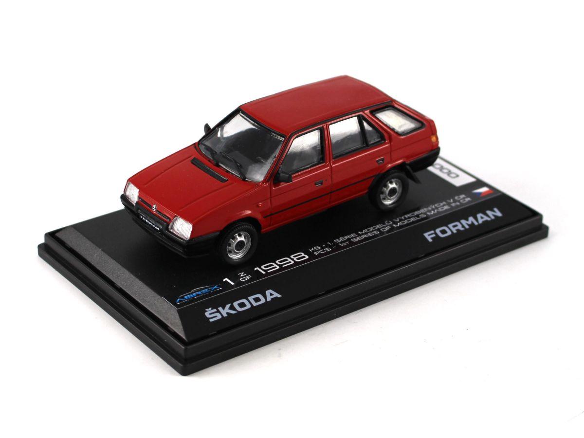 Škoda Forman (1993) 1:43 - 1.Série Vyrobená v ČR
