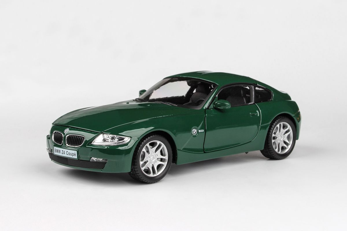 Abrex Cararama 1:24 - BMW Z4 - Dark Green