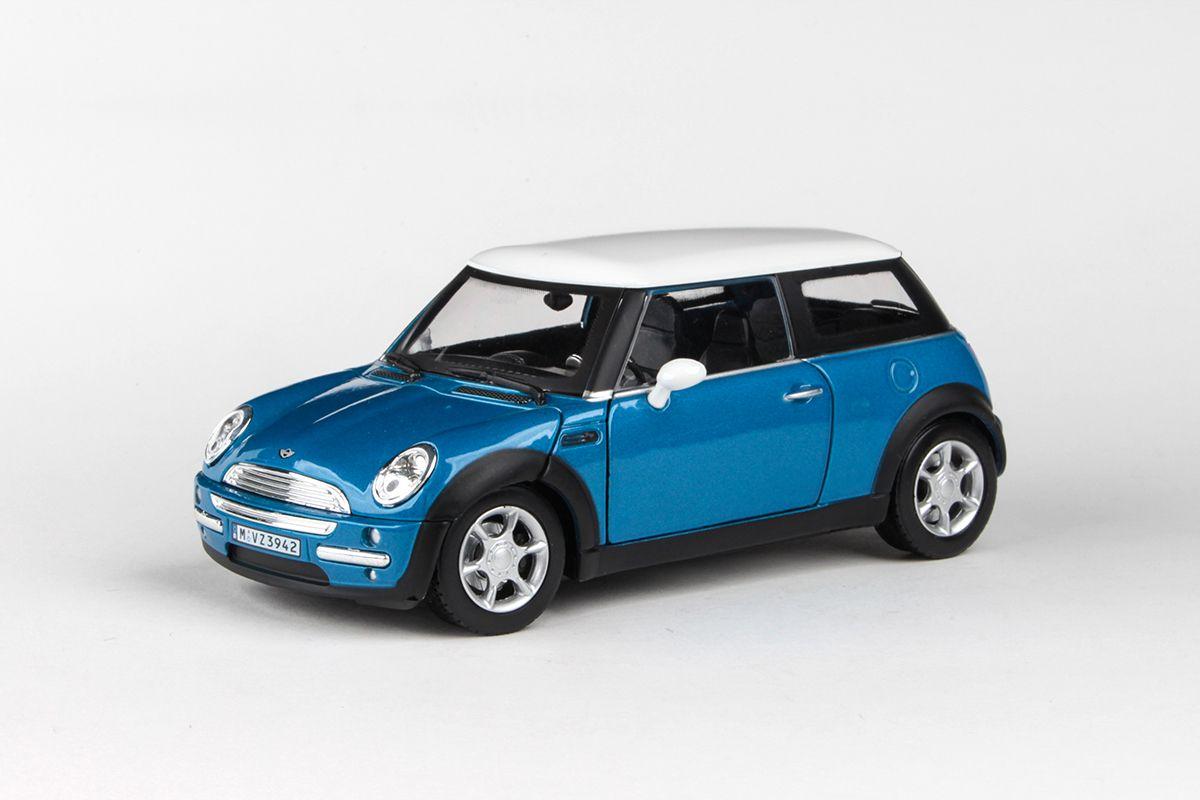 Kovový model New MINI - modrá metalíza