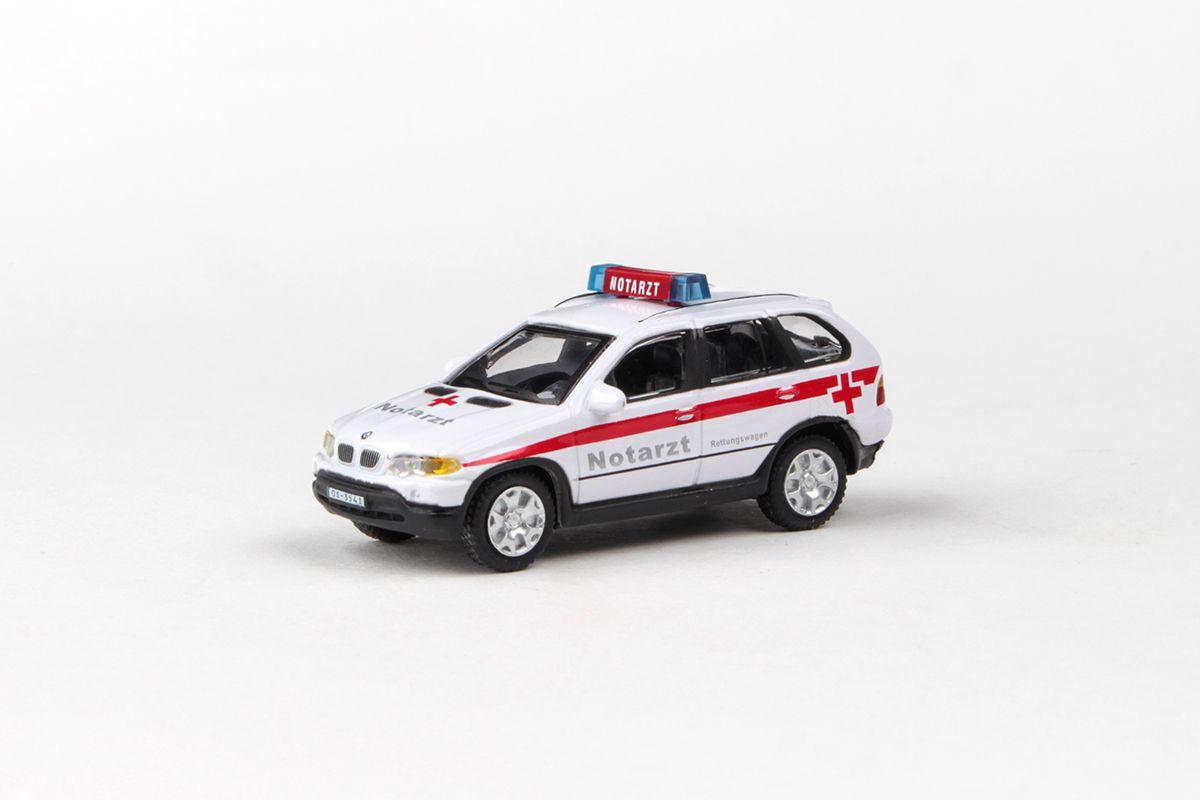 Abrex Cararama 1:72 - Junior Rescue Series, BMW X5 (NOTARZT)