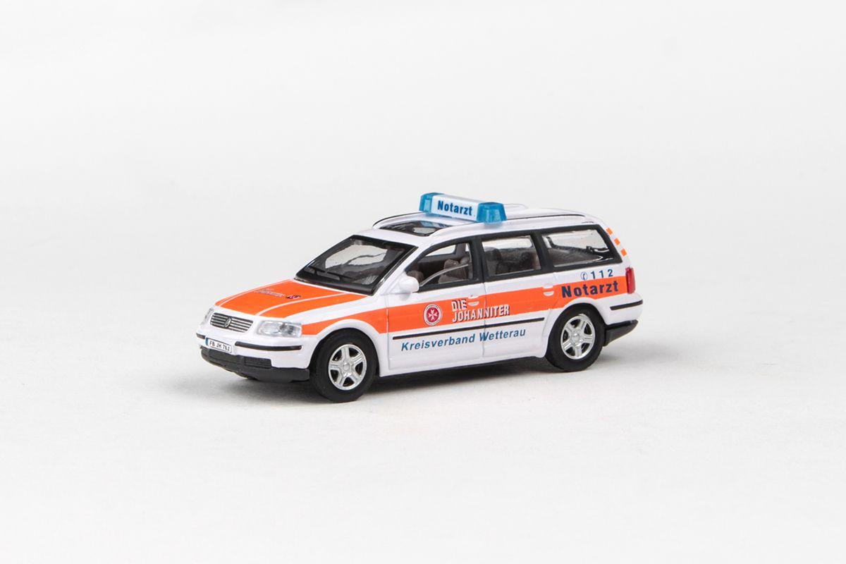 Abrex Cararama 1:72 - Junior Rescue Series, VW Passat Variant (NOTARZT)