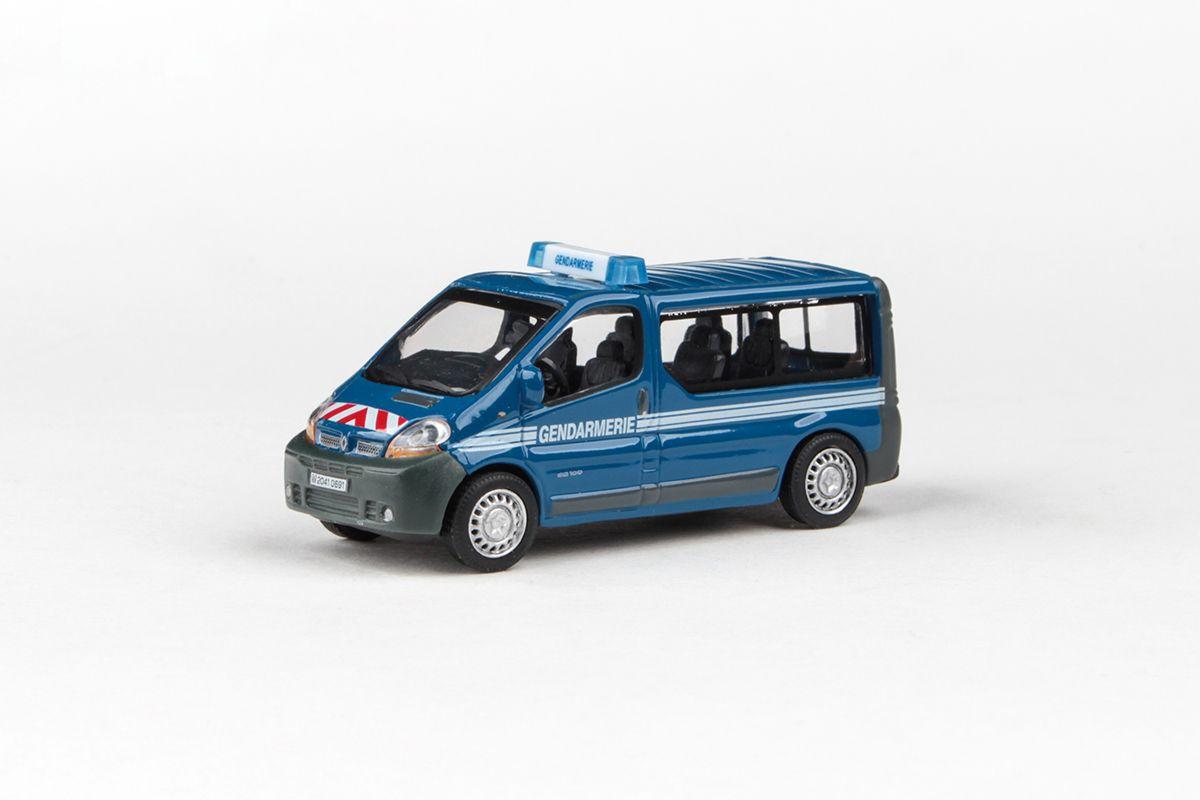 Abrex Cararama 1:72 - Junior Rescue Series, Renault Traffic Minibus (Gendarmerie)
