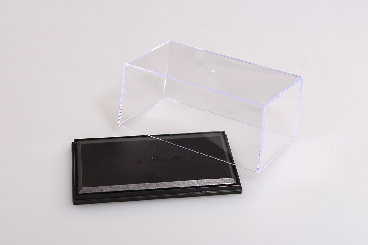 Vitrínková Krabička Abrex 1:43 - Univerzální Komplet (Čirý Kryt+Podlážka) - 2.jakost