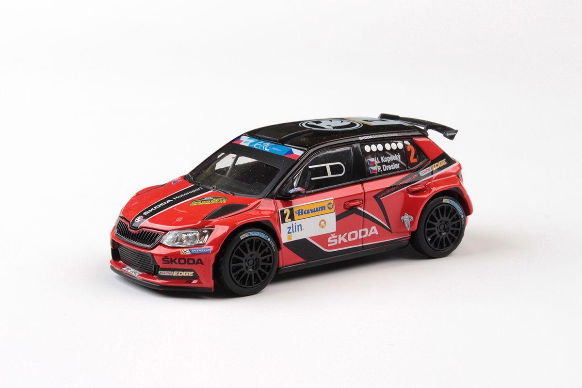Škoda Fabia III R5 (2015) 1:43 - Barum Czech Rally Zlín 2016 #2 Kopecký - Dresler