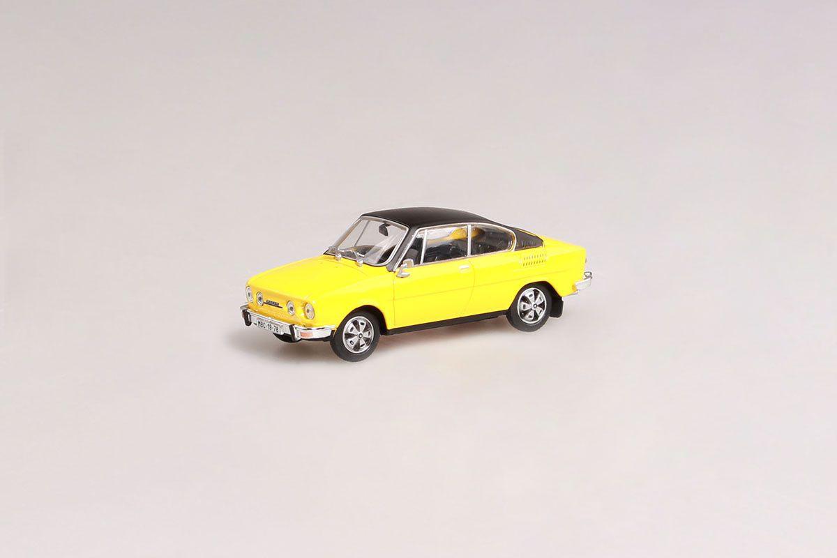 Škoda 110R Coupé (1980) 1:43 - Žlutá Sluneční