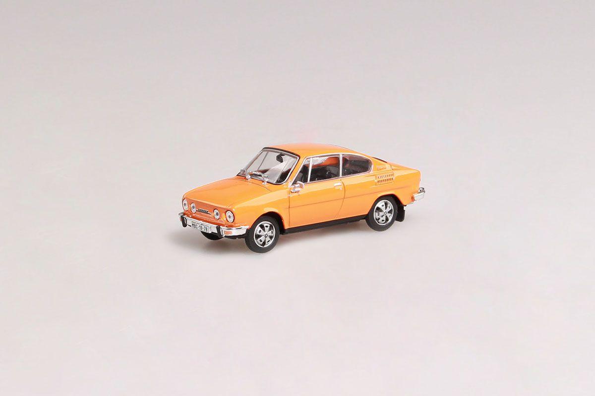 Škoda 110R Coupé (1980) 1:43 - Oranžová