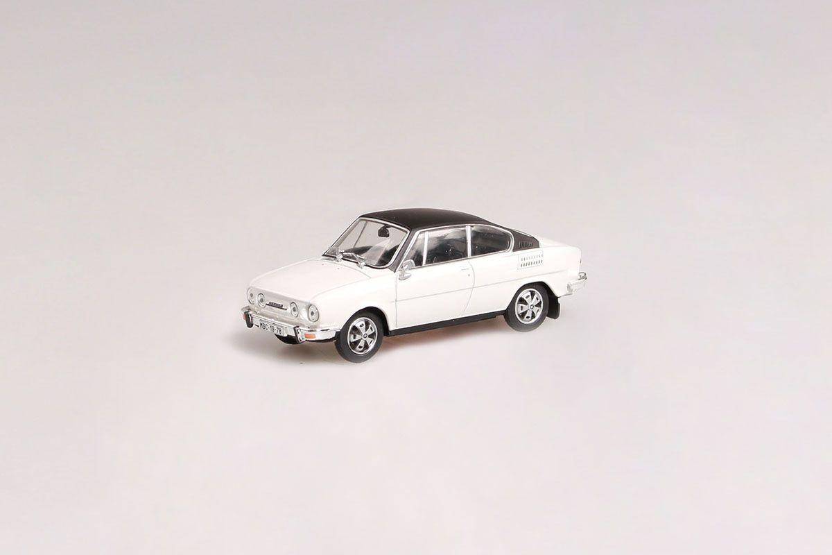 Škoda 110R Coupé (1980) 1:43 - Šedobílá