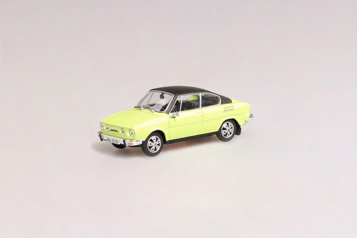 Škoda 110R Coupé (1980) 1:43 - Zelená Lipová