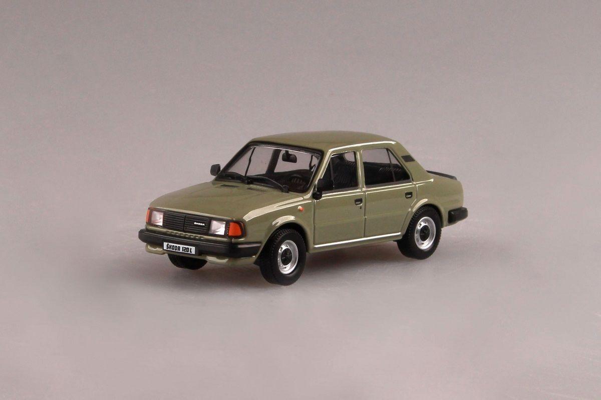 Škoda 120L (1984) 1:43 - Zelená Topolová