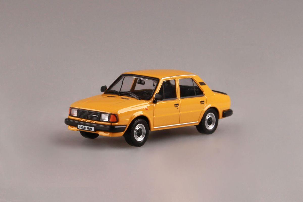 Škoda 120L (1984) 1:43 - Žlutá Podzimní