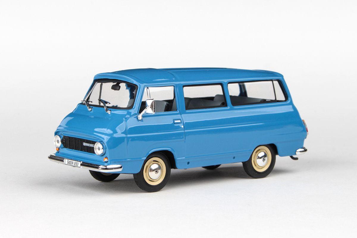 Škoda 1203 (1974) 1:43 - Modrá Střední