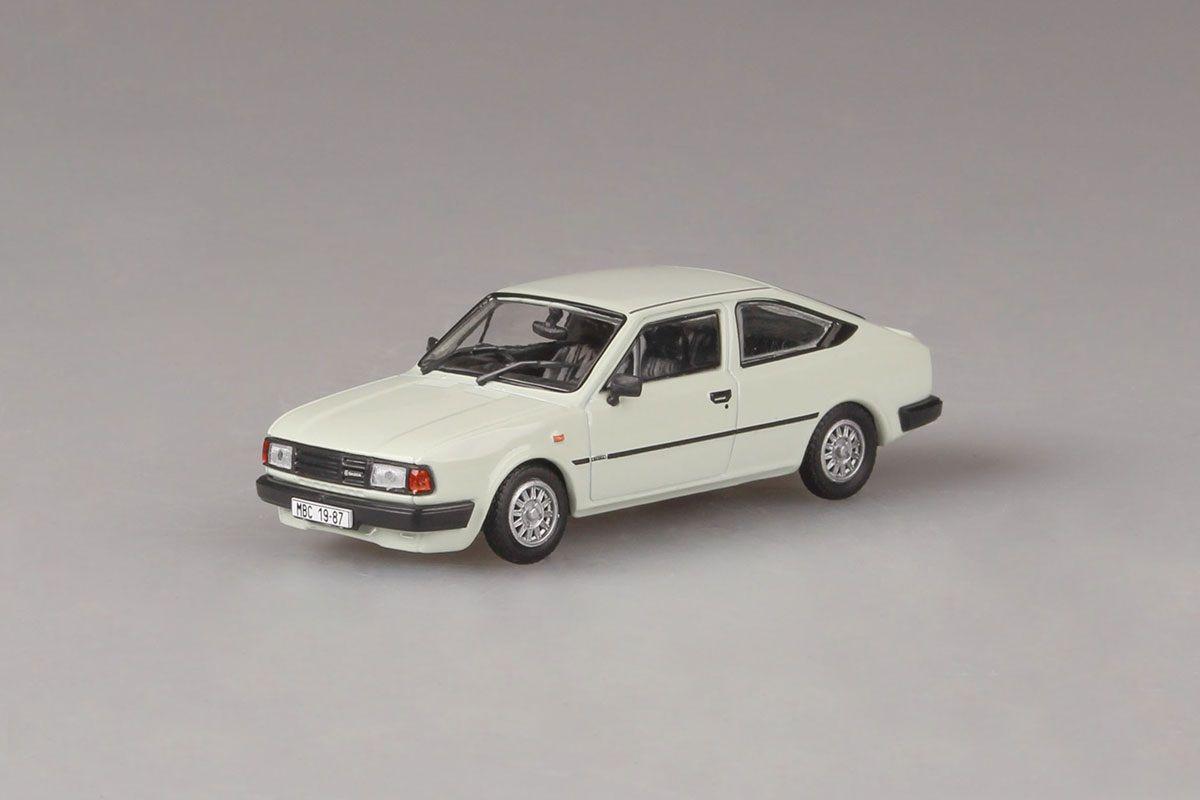Škoda Rapid 136 (1987) 1:43 - Bílá Ledová - Pravostranné Řízení