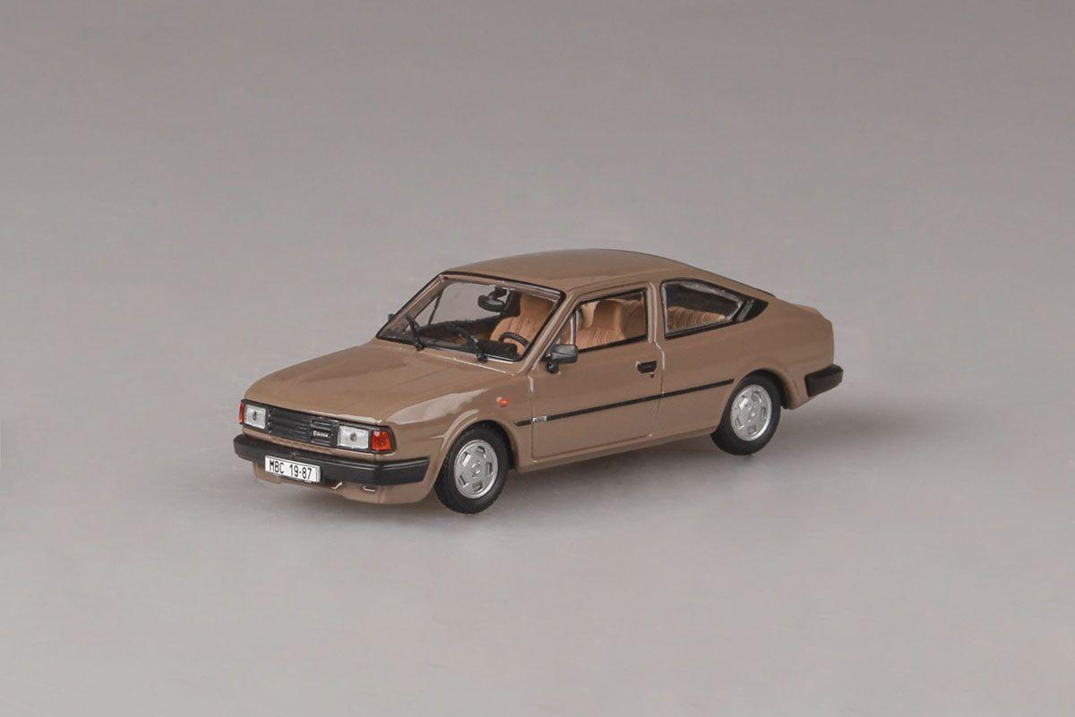 Škoda Rapid 136 (1987) 1:43 - Hnědá Kamenná