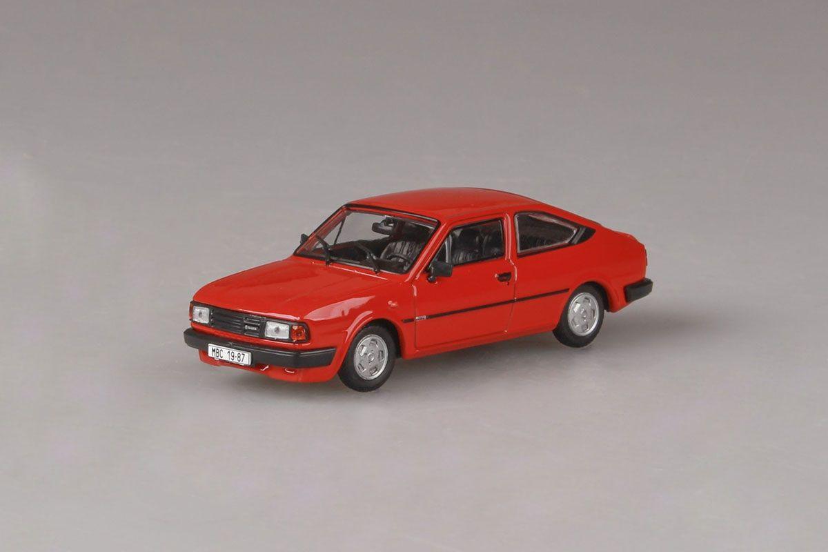 Škoda Rapid 136 (1987) 1:43 - Červená Korálová