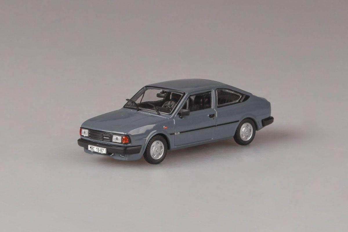 Škoda Rapid 136 (1987) 1:43 - Šedomodrá Tmavá