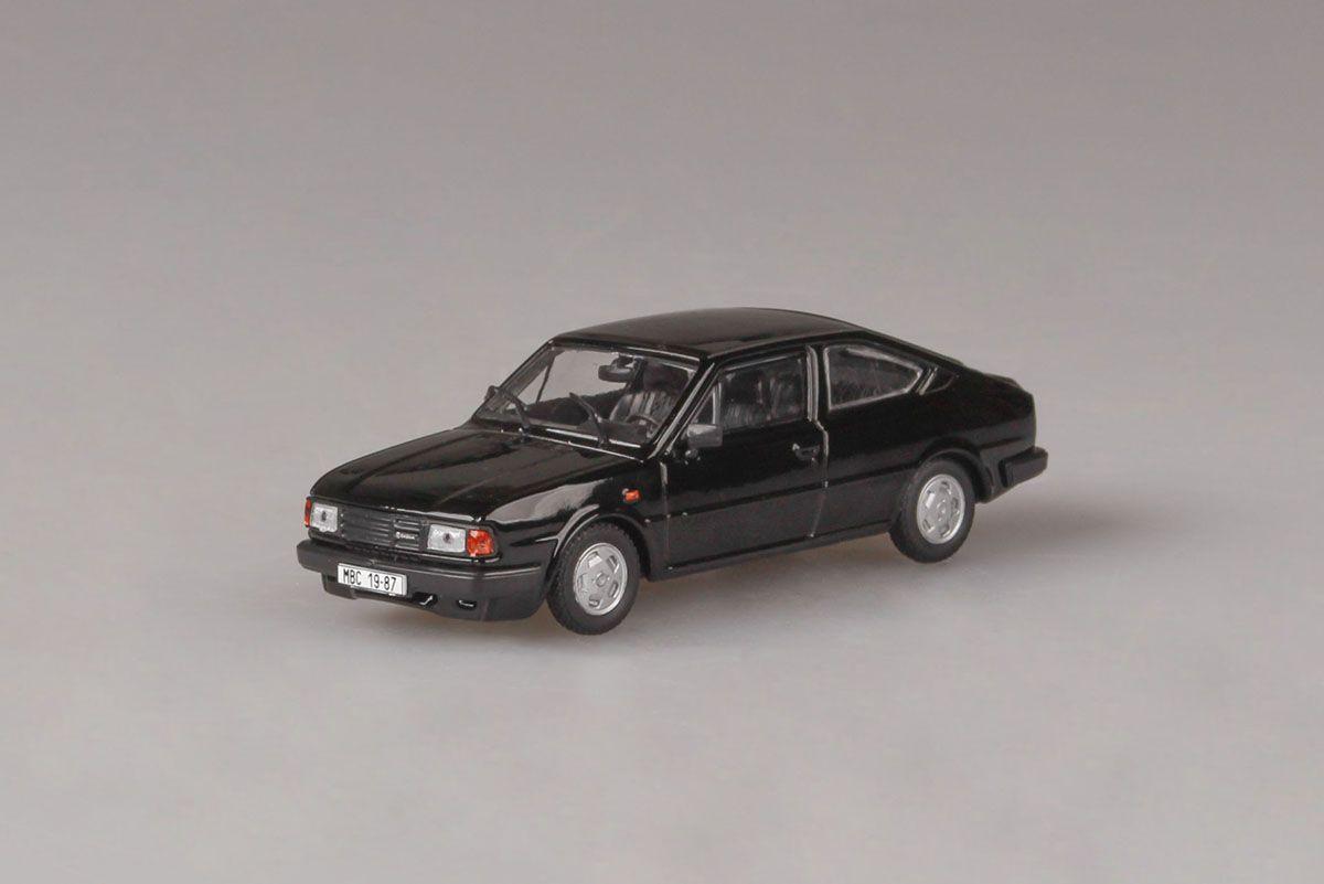 Škoda Rapid 136 (1987) 1:43 - Černá