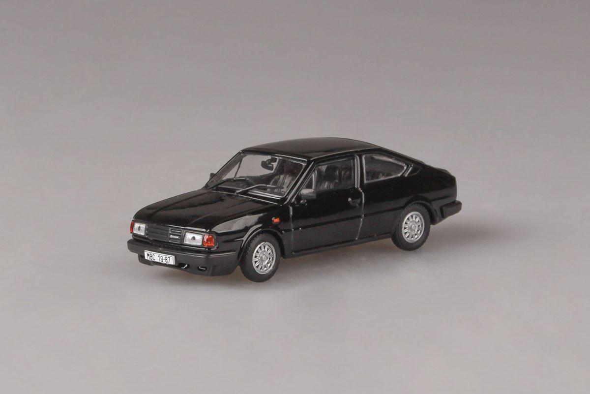 Škoda Rapid 136 (1987) 1:43 - Černá - Pravostranné Řízení
