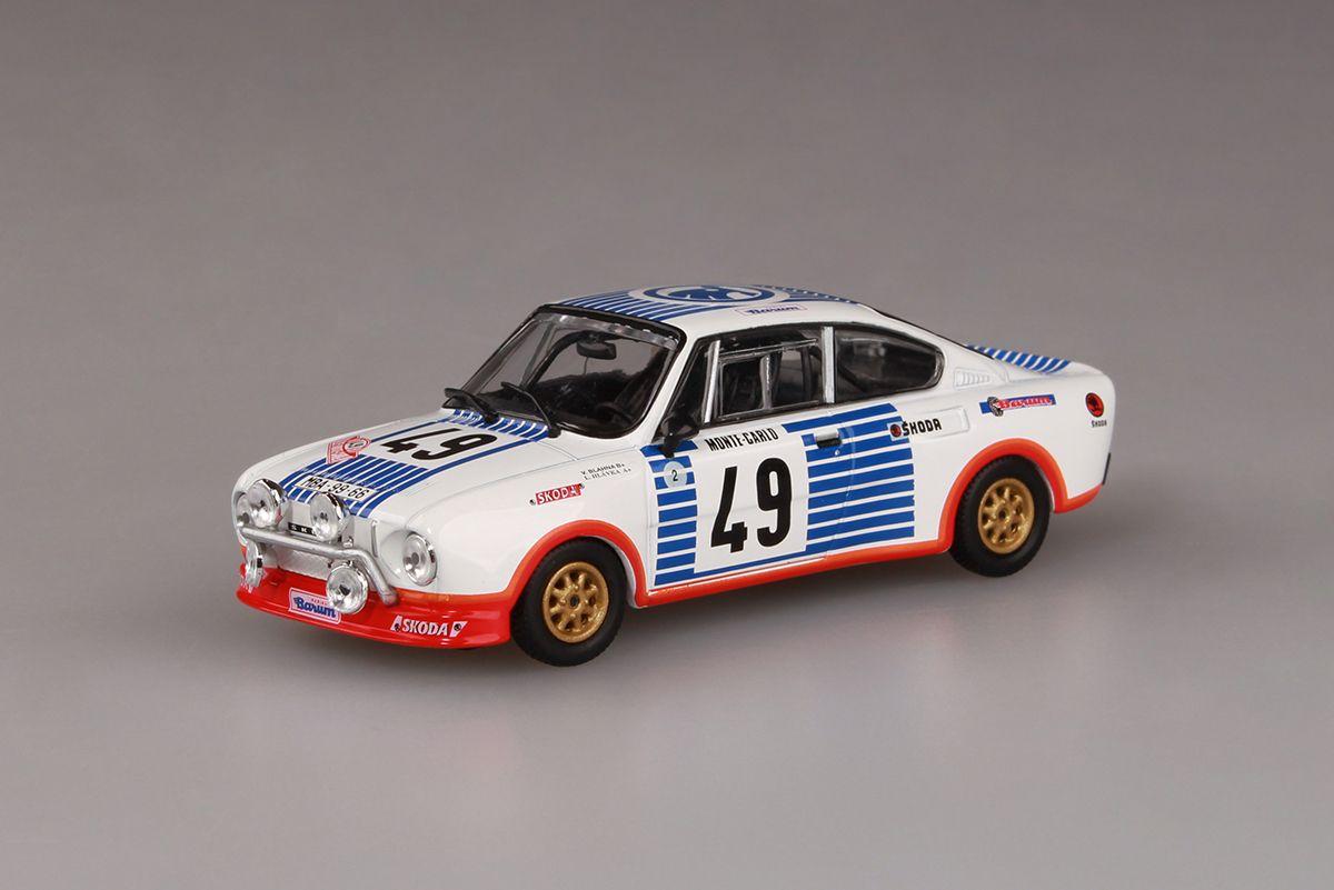 Škoda 130RS (1977) 1:43 - Rallye Monte-Carlo 1977 #49 Blahna - Hlávka
