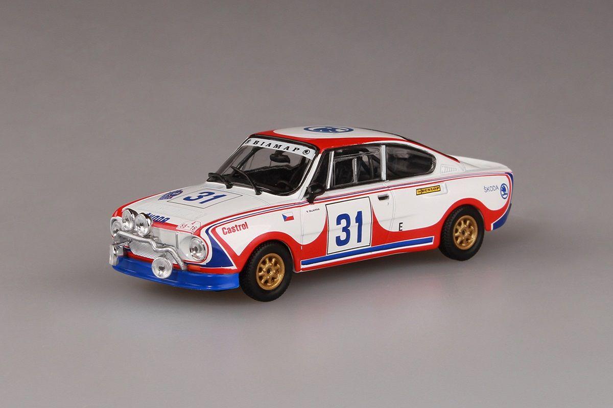 Škoda 130RS (1977) 1:43 - Acropolis Rally 1979 #31 Blahna - Motal
