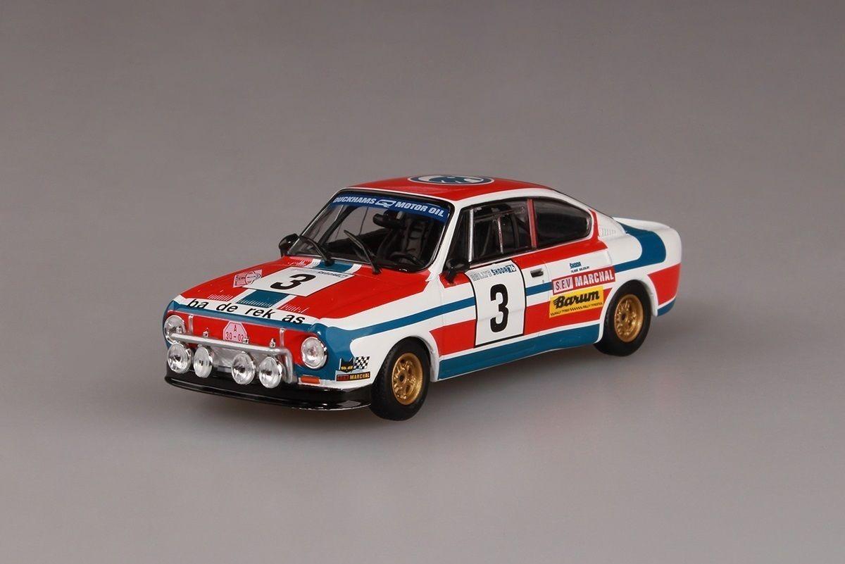 Škoda 130RS (1977) 1:43 - Rallye Škoda 1976 #3 Haugland - Floene