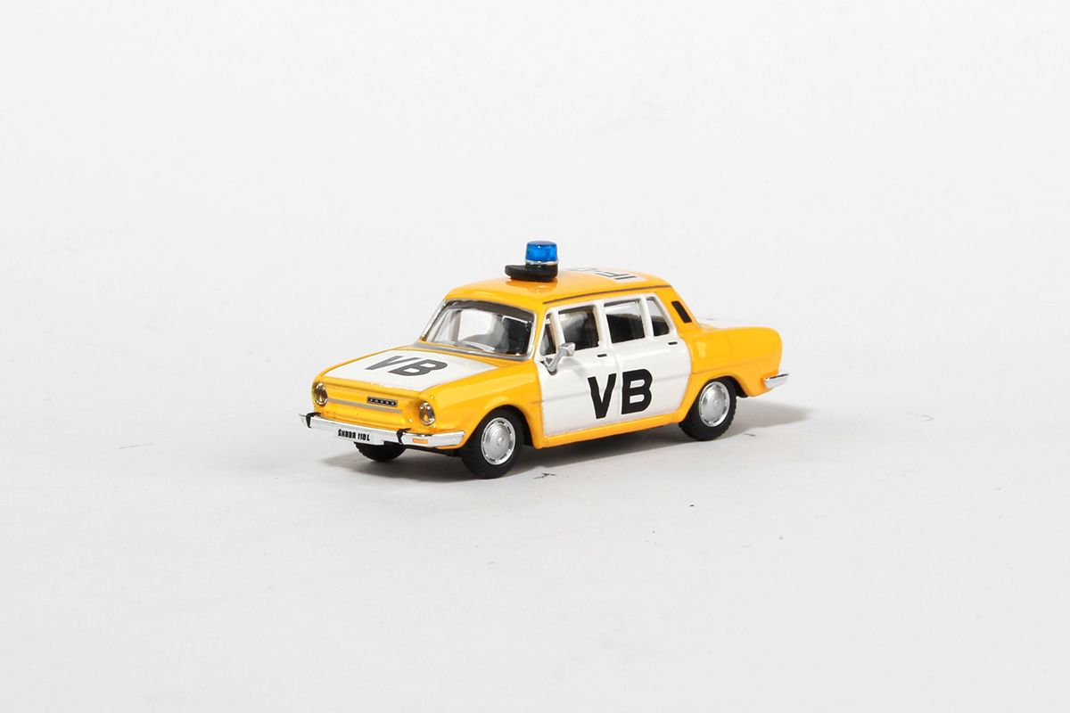 Škoda 110L (1973) 1:72 - Veřejná Bezpečnost