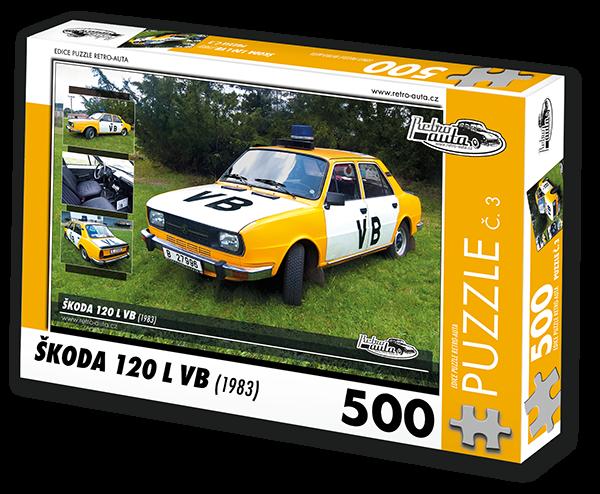Puzzle č. 03 - Škoda 120L VB (1983) - 500 dílků