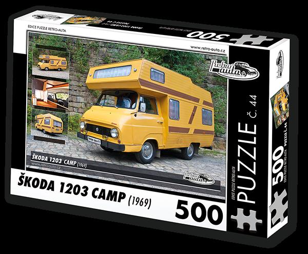 Puzzle č. 44 - Škoda 1203 Camp (1969) - 500 dílků