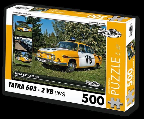 Puzzle č. 47 - Tatra 603 - 2 VB (1975) - 500 dílků