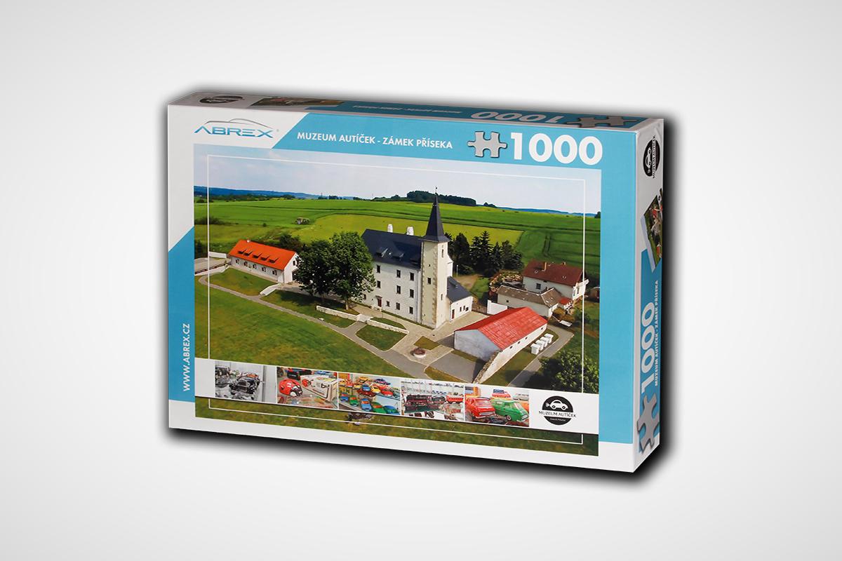 Puzzle Muzeum Autíček Příseka - 1000 dílků