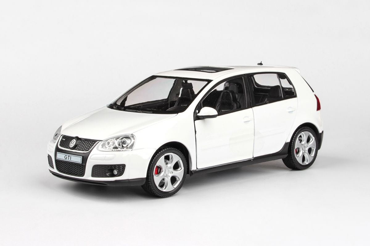 Abrex Cararama 1:24 - VW Golf GTI - White