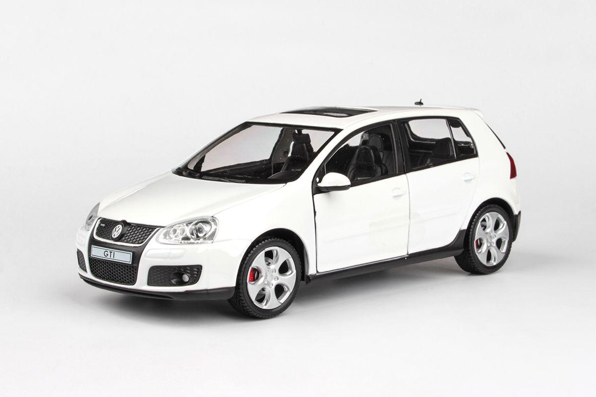 Abrex Cararama 1:24 - VW Golf GTI - White