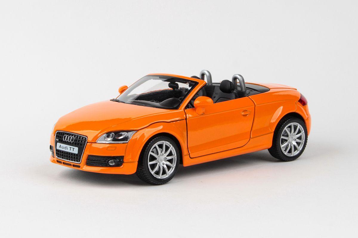 Kovový model AUDI TT - oranžová
