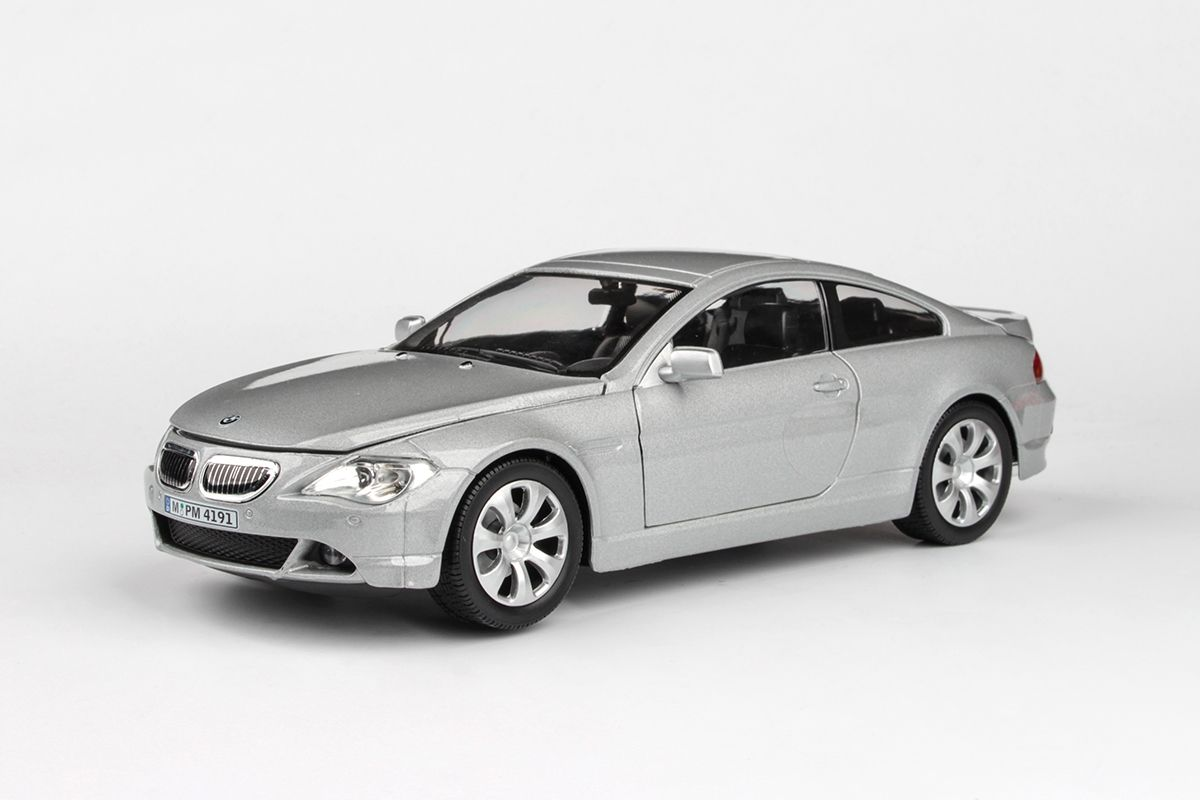 Abrex Cararama 1:24 - BMW 6 Series - Silver
