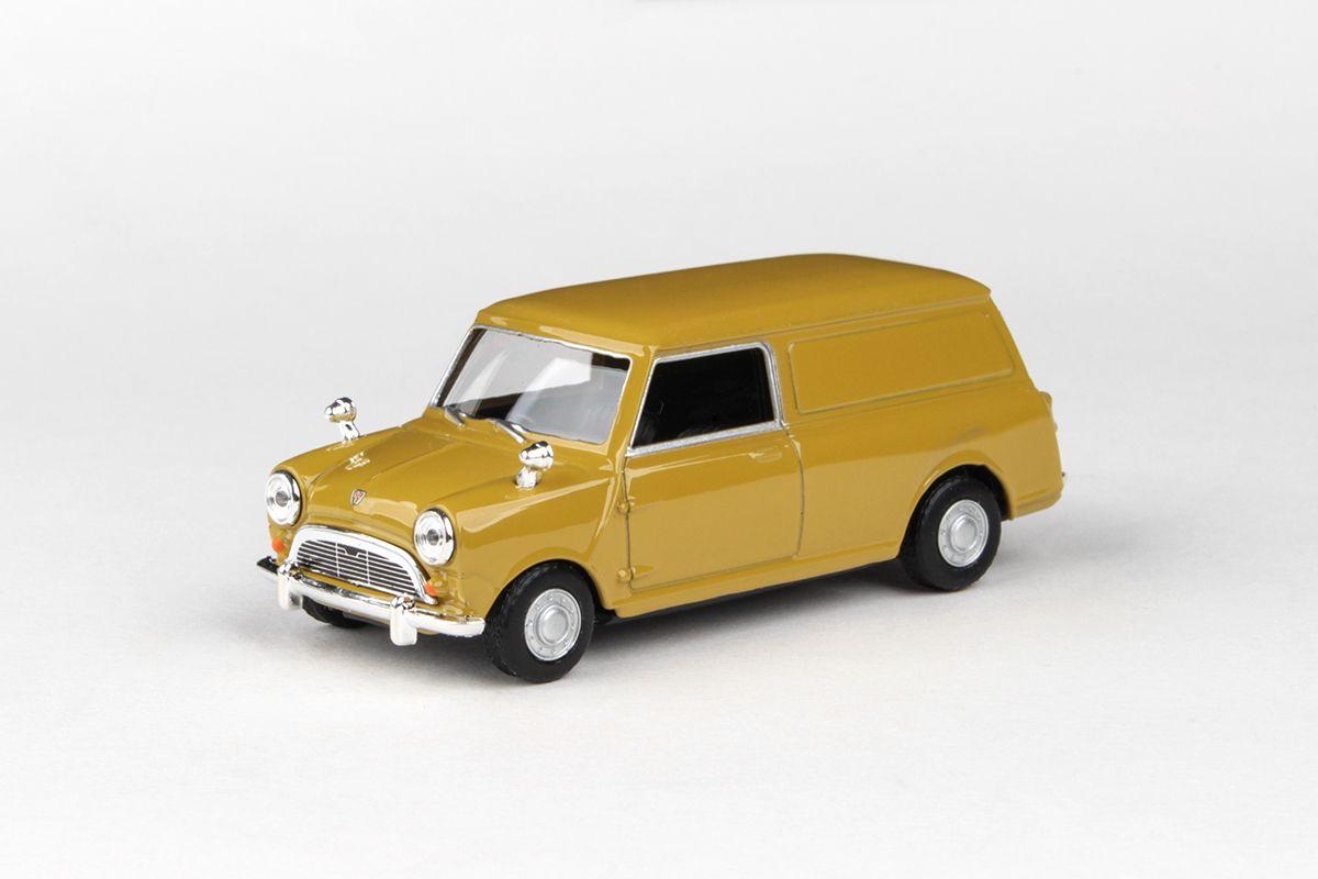 Abrex Cararama 1:43 - Mini Panel Van - Golden Brown