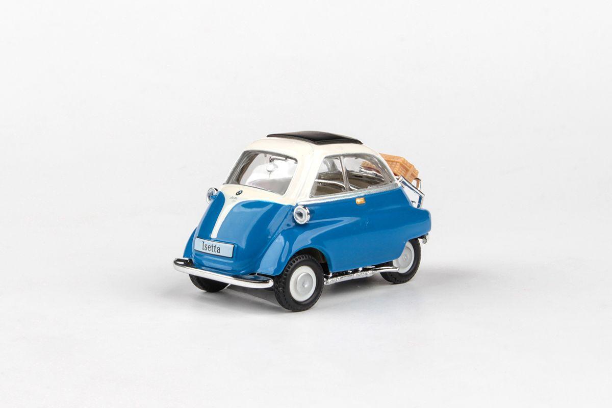 Abrex Cararama 1:43 - BMW Isetta 250 - Blue