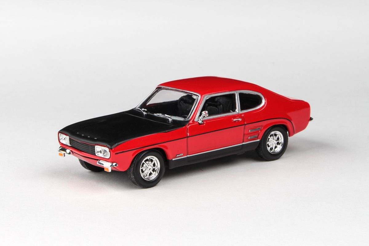 Abrex Cararama 1:43 - Ford Capri RS 1970 - Red