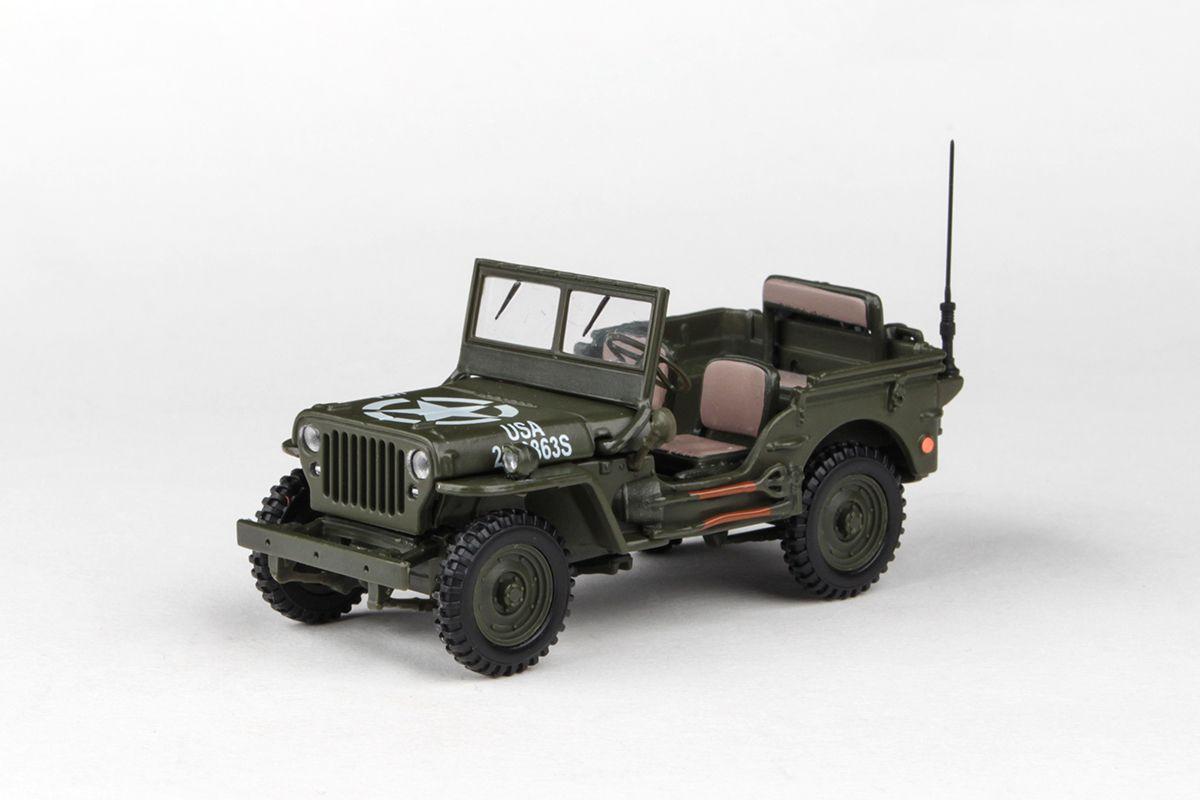 Abrex Cararama 1:43 - 1/4 Ton Military Vehicle - US Version 1