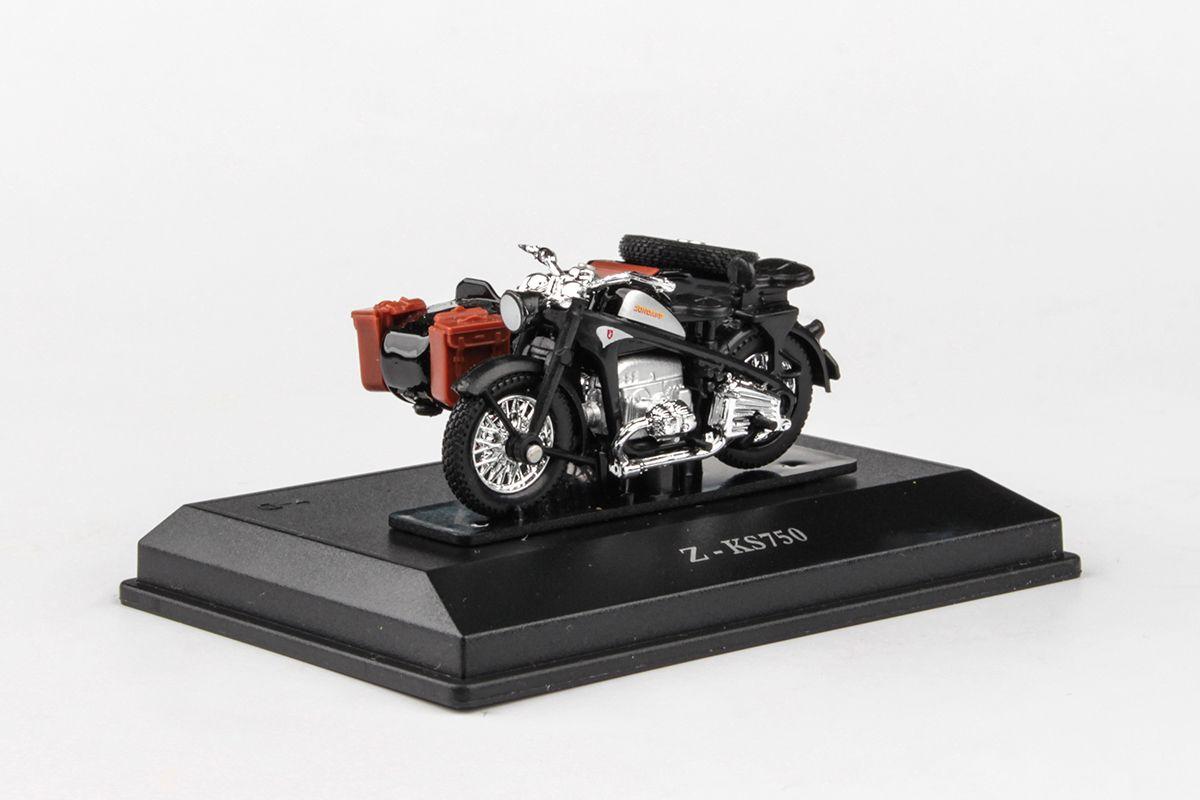 Abrex Cararama 1:43 - Zuendapp KS750 Motorbike - Dark Grey