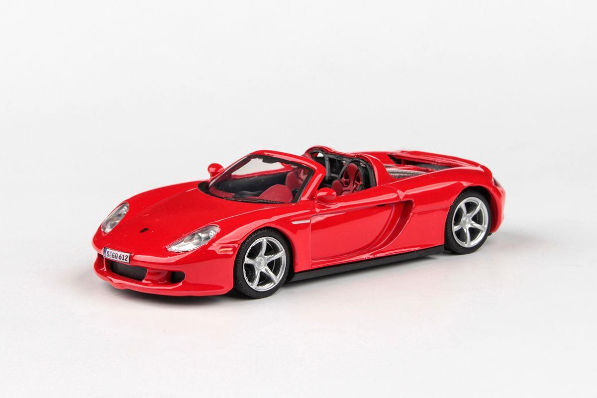 Abrex Cararama 1:43 - Porsche Carrera GT (Open Top) - Red