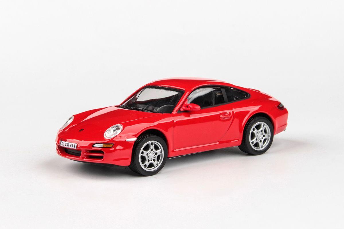 Abrex Cararama 1:43 - Porsche 911 Carrera S - Red