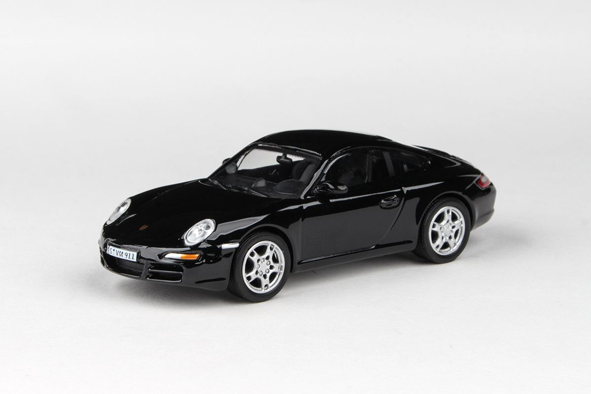 Abrex Cararama 1:43 - Porsche 911 Carrera S - Black
