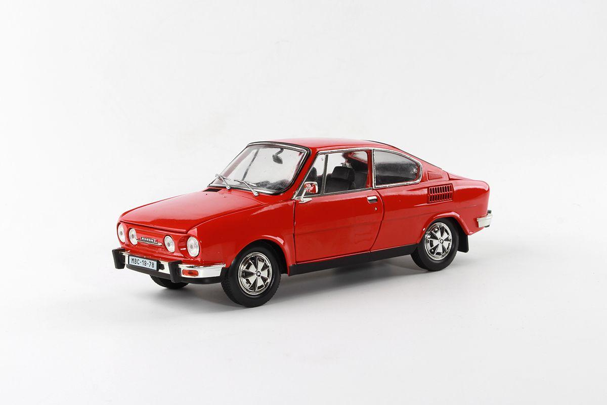 Škoda 110R Coupé (1980) 1:18 - Červená Závodní
