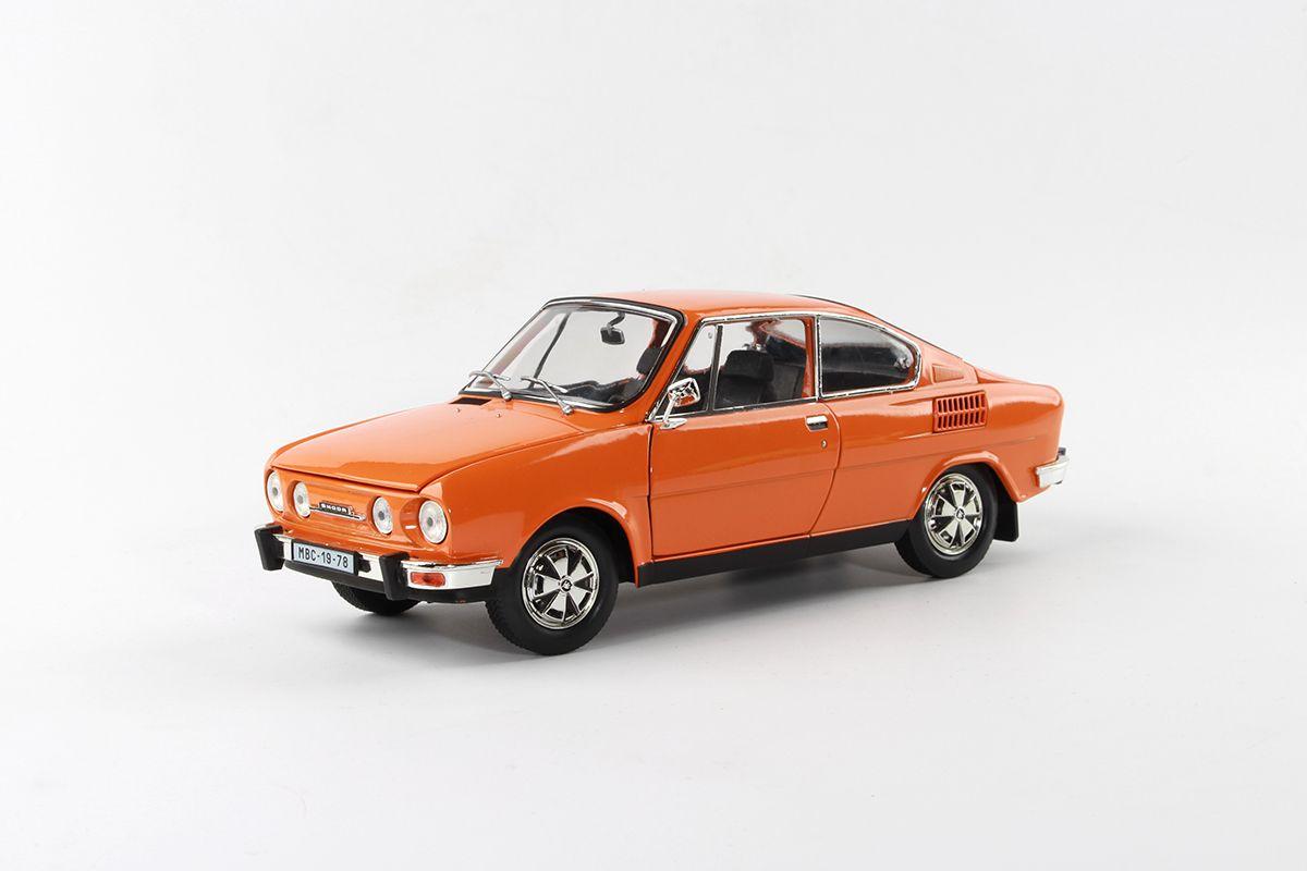 Škoda 110R Coupé (1980) 1:18 - Oranžová
