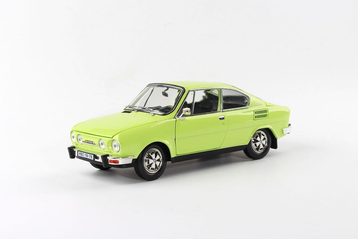 Škoda 110R Coupé (1980) 1:18 - Zelená Lipová