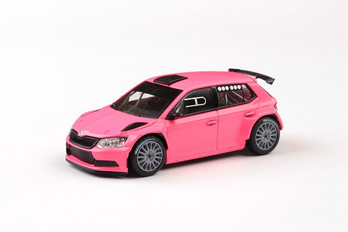 Škoda Fabia III R5 (2015) 1:43 - Růžová Matná